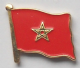 Morocco Country Flag Enamel Pin Badge